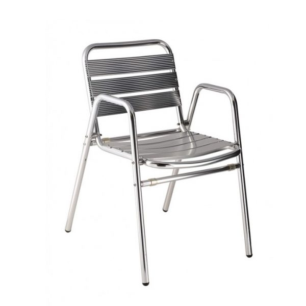 aluminium stoel